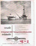 Cameron Iron Works 1955 Vintage Ad Oil Gas W Horace Williams Equipment