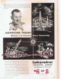 Independent Exploration Company 1955 Vintage Ad Oil D D Doty