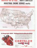 Chrysler Corp 1955 Vintage Ad Industrial Engine Petroleum Oil Field