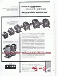 Leland Electric Company 1955 Vintage Ad Motor Explosion-Proof Pumping