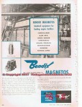 Bendix Aviation Corporation 1955 Vintage Ad Oil Field Engine Magnetos