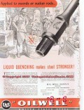United States Steel 1955 Vintage Ad Oil Sucker Rods Liquid Quenching