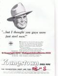 Hughes Tool Company 1955 Vintage Ad Oil Field Bit Speed Kings Industry