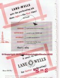 Lane-Wells Company 1955 Vintage Ad Oil Field Perforating Right First