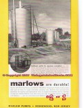 Marlow Pumps 1955 Vintage Ad Oil Self Priming Centrifugal Profits