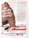 Chicago Pneumatic Tool Company 1955 Vintage Ad CP Three Cone Rock Bits