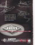 Lucey Products Corp 1955 Vintage Ad Oil Field Diamond Equipment