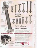 Armco Steel Corp 1955 Vintage Ad Small Parts Sheffield Nuts Bolts