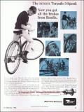 bendix corp 1966 torpedo 3-speed coaster brake bicycle hub vintage ad