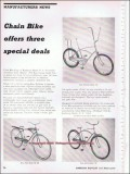 chain bike corporation 1966 ross bicycle distributor vintage ad