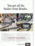 bendix corp 1966 best brakes in the bicycle industry vintage ad