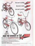 chain bike corporation 1966 the star styling sales profits vintage ad