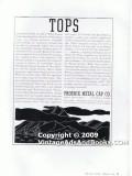phoenix metal cap company 1938 mt everest screw top glass vintage ad