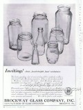 brockway glass co 1938 clear jewel-bright food containers vintage ad