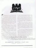 phoenix metal cap company 1938 phoenix flame magazine vintage ad