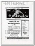 Pure Oil Company 1934 Vintage Ad Purol-Pep Gasoline Pep New Customers