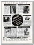 Air Reduction Sales Company 1934 Vintage Ad Oil AIRCO Pipeline Welding
