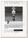 American Meter Company 1934 Vintage Ad Oil Precision Readings Quickly