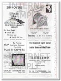 ABC Reports 1950 Vintage Ad Haire Merchandising Publication Leather