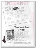 Platt Luggage Inc 1950 Vintage Ad Three New Branch Sales Offices