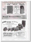 Platt Luggage Inc 1950 Vintage Ad Side-Kick Airess Drum Saratoga Women