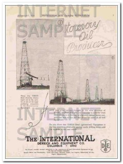 Carbondale Machine Company 1924 Vintage Ad Oil Refinery Refrigeration