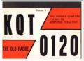 KQT-0120 Joseph Schneider Hempstead TX 1960s Vintage Postcard CB QSL 2