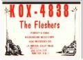 KOX-4838 Murray Flesher La Mirada CA 1960s Vintage Postcard CB QSL 2