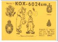 KOX-6024 Howard Happy San Luis Obispo CA 60s Vintage Postcard CB QSL 3
