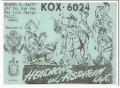 KOX-6024 Howard Happy San Luis Obispo CA 60s Vintage Postcard CB QSL 7