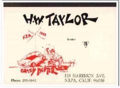KPA-1039 Harold Taylor Napa CA 1960s Vintage Postcard CB QSL Card 3