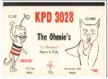 KPD-3028 Curt Ohmie Sacramento CA 1960s Vintage Postcard CB QSL 2