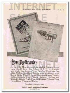 Maloney Tank Mfg Company 1921 Vintage Ad Oil Storage Worth Weight Gold