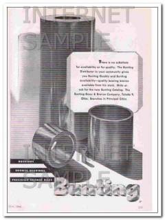 bunting brass bronze company 1948 bushings bearings bars vintage ad
