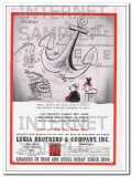 luria brothers company 1948 philbert never get away with it vintage ad