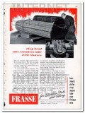 peter a frasse company 1948 they bend stainless tube vintage ad