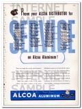 aluminum company of america 1948 alcoa distributor service vintage ad