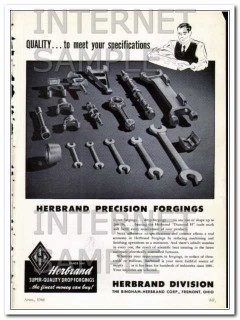 bingham-herbrand corp 1948 quality to meet your specs vintage ad