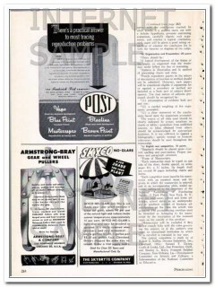 armstrong-bray company 1948 gear and wheel pullers vintage ad