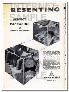 behr-manning 1948 norton company service packaging vintage ad