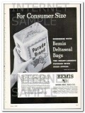 bemis brothers bag company 1948 for consumer size vintage ad