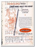 cleveland twist drill company 1948 cle-forge high speed vintage ad