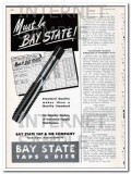 bay state tap and die company 1948 must be quality standard vintage ad