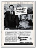 allegheny ludlum steel corp 1948 stainless appliances vintage ad