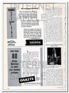 j j tourek mfg company 1948 recognized standard ball joints vintage ad