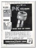 parker-kalon corp 1948 p-k size-mark socket head cap screws vintage ad