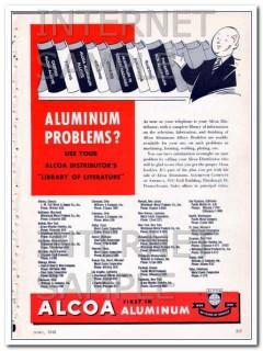 aluminum company of america 1948 alcoa library literature vintage ad