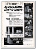 bemis brothers bag company 1948 do you know tite-fit tubing vintage ad