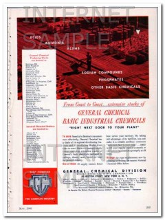 allied chemical dye corp 1948 basic industrial chemicals vintage ad