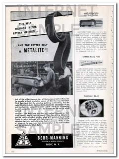 behr-manning 1948 norton company better belt method vintage ad
